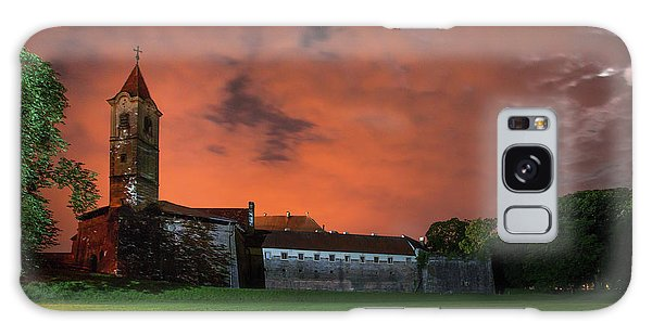 Galaxy Case featuring the photograph Zrinskis' Castle 2 by Davor Zerjav