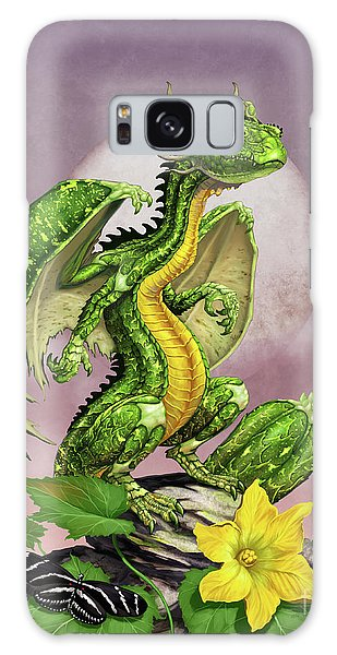 Zucchini Dragon Galaxy Case