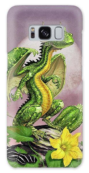 Zucchini Dragon Galaxy Case by Stanley Morrison