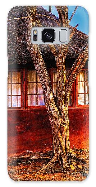Zulu Hut Galaxy Case by Rick Bragan
