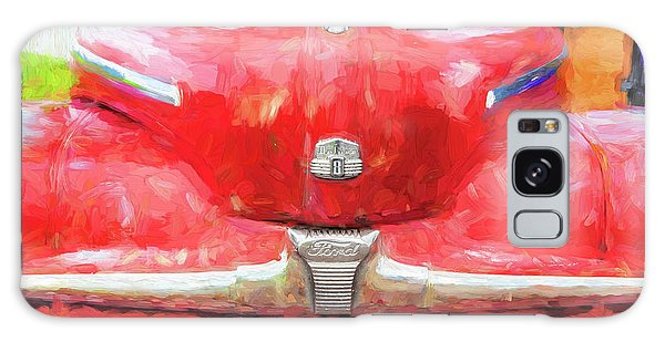 Dual Exhaust Galaxy Case - 1947 Ford Super Deluxe Coupe 006 by Rich Franco