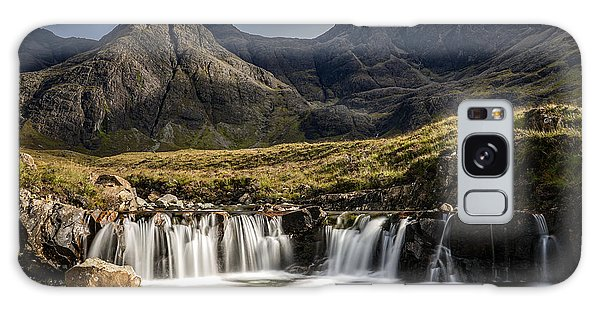 Fairy Pools Galaxy S8 Case - A Beautiful Waterfall At Fairy Pools In Isle Of Skye, Scotland. by George Afostovremea