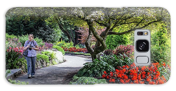 A Walk In The Garden Galaxy Case