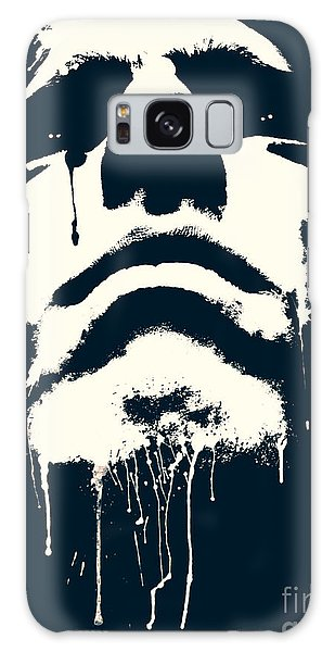 Powerful Galaxy Case - Abstract Portrait by Tudor Catalin Gheorghe