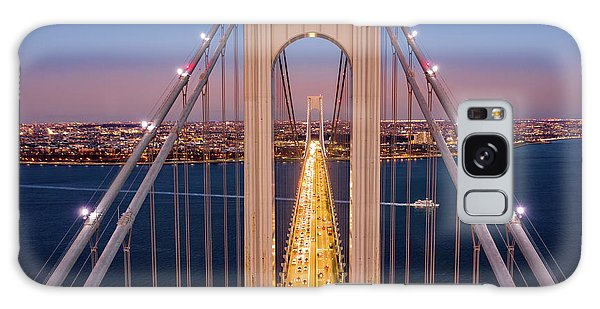 Aerial View Of Verrazzano Narrows Bridge Galaxy Case