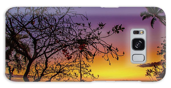 After Sunset Colors Galaxy Case