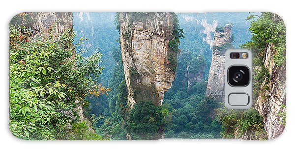 Ecology Galaxy Case - Alone Rock Column Mountain Avatar by Vadim Petrakov