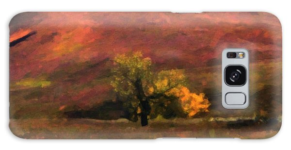 Galaxy Case featuring the painting Autumn by Gerlinde Keating - Galleria GK Keating Associates Inc