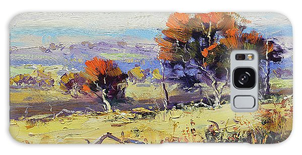 Beautiful Galaxy Case - Bathurst Landscape by Graham Gercken