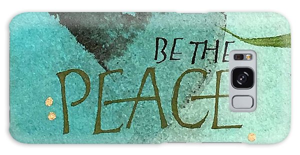 Be The Peace Galaxy Case