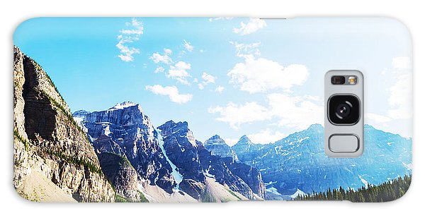 Scenery Galaxy Case - Beautiful Moraine Lake In Banff by Galyna Andrushko