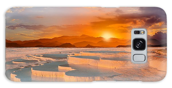 Geology Galaxy Case - Beautiful Sunrise And Natural by Muratart
