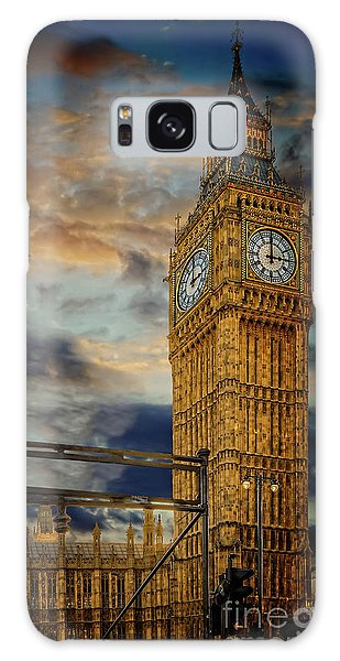 Galaxy Case - Big Ben London City by Adrian Evans
