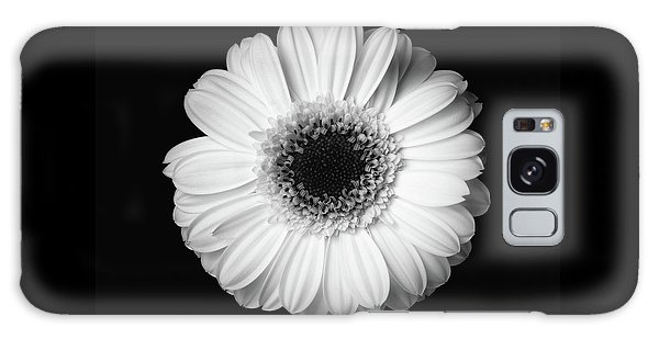 Galaxy Case featuring the photograph Black And White Flower by Mirko Chessari