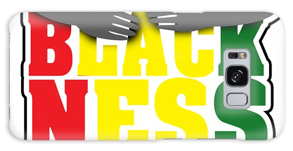 Malcom X Galaxy Case - Black History Month African American Black Pride Shirt Light by Nikita Goel