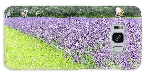 Blue Lavender Galaxy Case