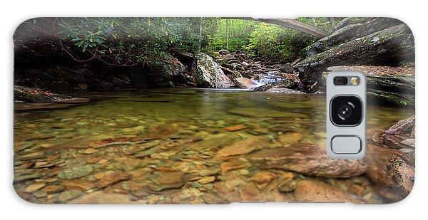 Boone Fork Bridge - Blue Ridge Parkway - North Carolina Galaxy Case