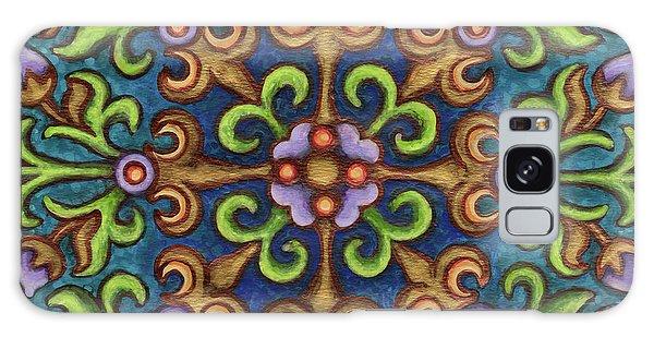 Botanical Mandala 8 Galaxy Case