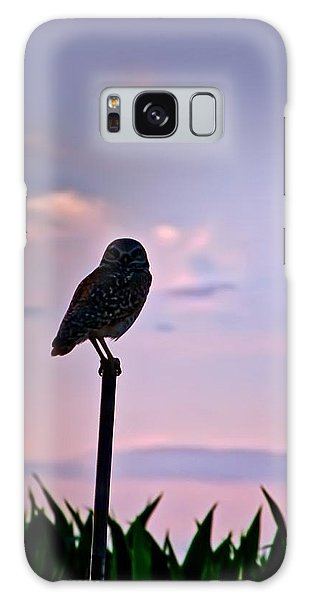 Burrowing Owl On A Stick Galaxy Case