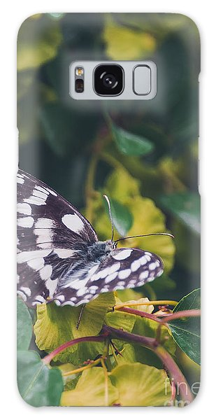 Bright Colors Galaxy Case - Butterfly, Flower, Colorful, Nature by Murgvi