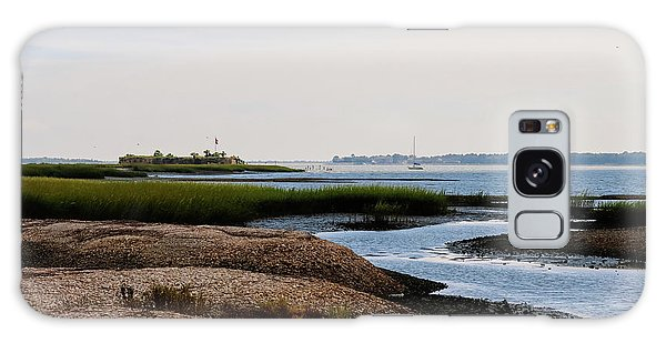Us Civil War Galaxy Case - Castle Pinckney, Charleston Harbor by Matt Richardson