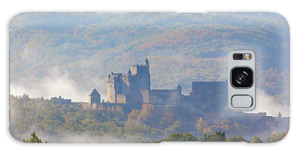 Galaxy Case featuring the photograph Chateau Beynac In The Mist by Mark Shoolery