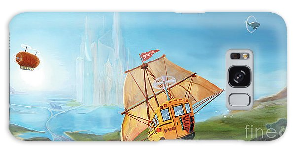 City On The Sea Galaxy Case