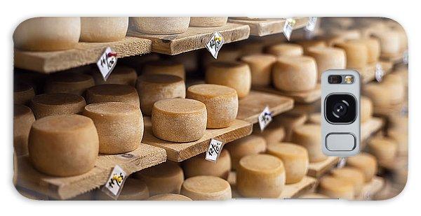 Tasty Galaxy Case - Cow Milk Cheese, Stored In A Wooden by Maxim Golubchikov