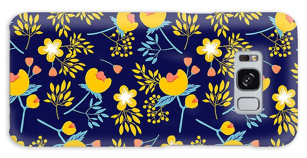 Branch Galaxy Case - Cute Vector Seamless Pattern With by Vavavka