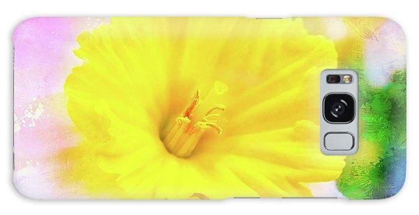 Daffy Daffodil 2 Galaxy Case
