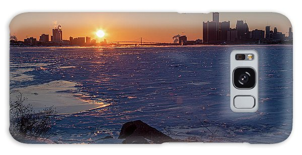 Detroit River Galaxy Case