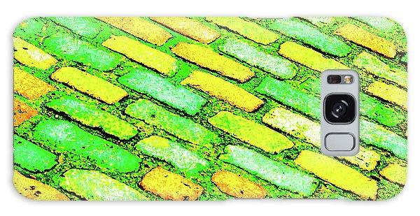 Diagonal Street Cobbles Galaxy Case
