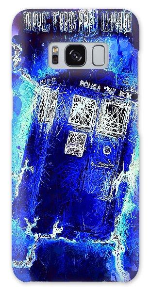 Doctor Who Tardis Galaxy Case