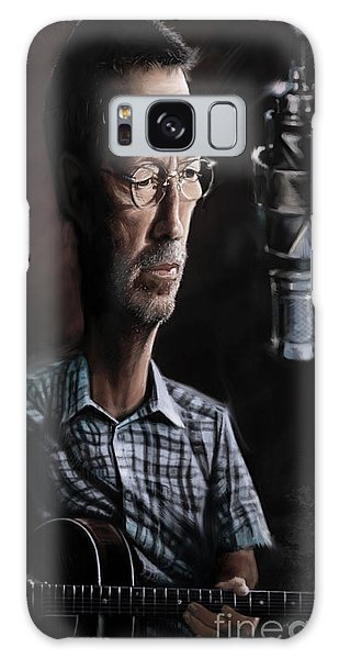 Eric Clapton Galaxy Case - Eric Clapton by Andre Koekemoer