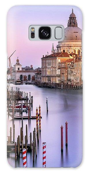 Evening Light In Venice Galaxy Case
