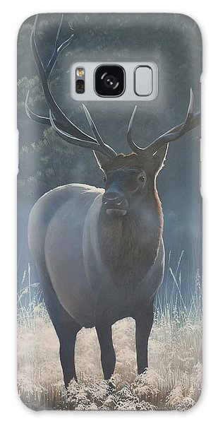 First Light - Bull Elk Galaxy Case