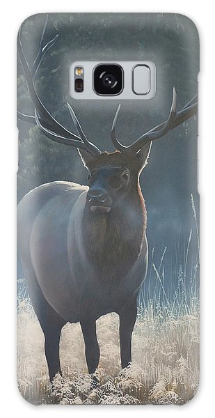 First Light - Bull Elk Galaxy Case