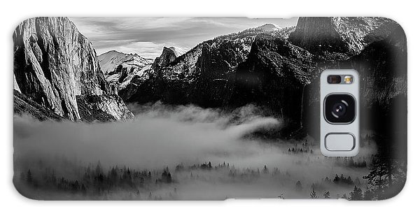 White Mountain National Forest Galaxy Case - Fog In Yosemite by Jon Glaser