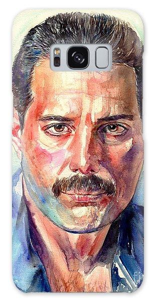 Mercury Galaxy Case - Freddie Mercury Painting by Suzann Sines