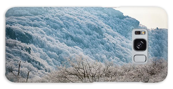 Frost On The Mountain Galaxy Case
