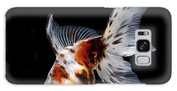 Decorative Galaxy Case - Goldfish Isolated On Black Background by Bluehand