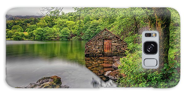 Galaxy Case - Gwynant Lake Boat House by Adrian Evans
