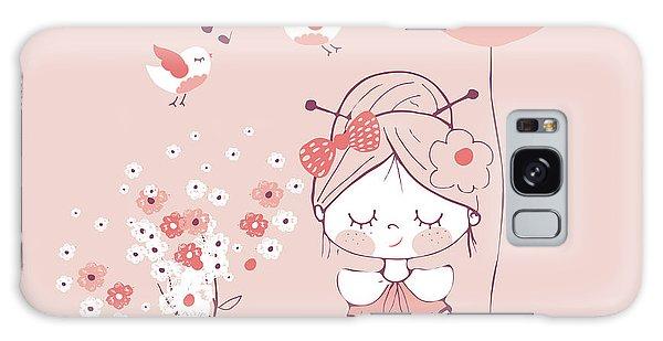 Dress Galaxy Case - Hand Drawn Vector Illustration Of Cute by Eteri Davinski