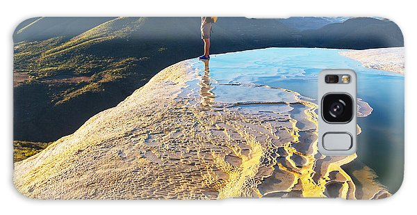 Geology Galaxy Case - Hierve El Agua, Natural Rock Formations by Galyna Andrushko