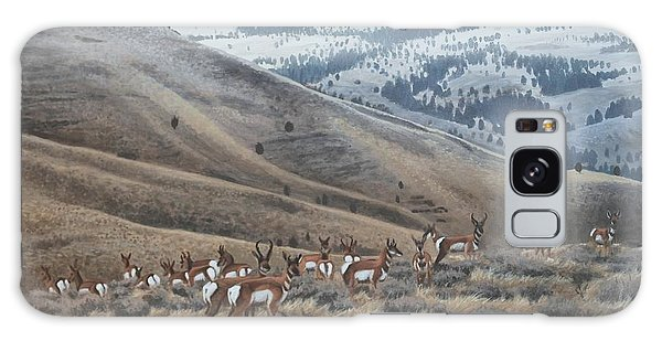 High Country Pronghorn Galaxy Case