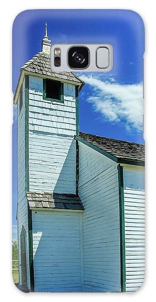 Historic Mcdougall Church, Morley, Alberta, Canada Galaxy Case
