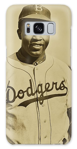 Brooklyn Dodgers Galaxy Case - Jackie Robinson 1950 by Nara