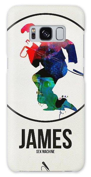 Classic Rock Galaxy Case - James Brown by Naxart Studio