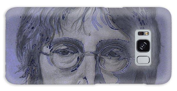 Galaxy Case - John Lennon Re-imagined by Digital Painting