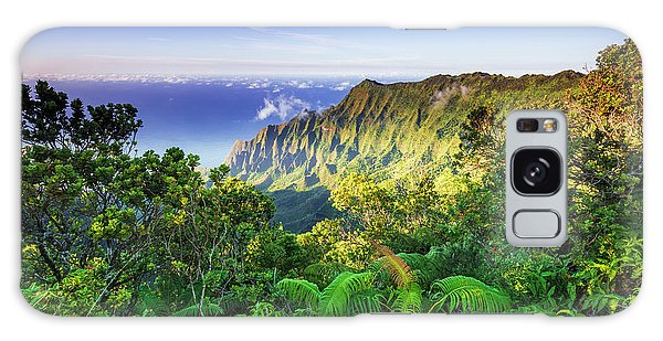 Chasm Galaxy Case - Kalalau Valley And The Na Pali Coast by Russ Bishop